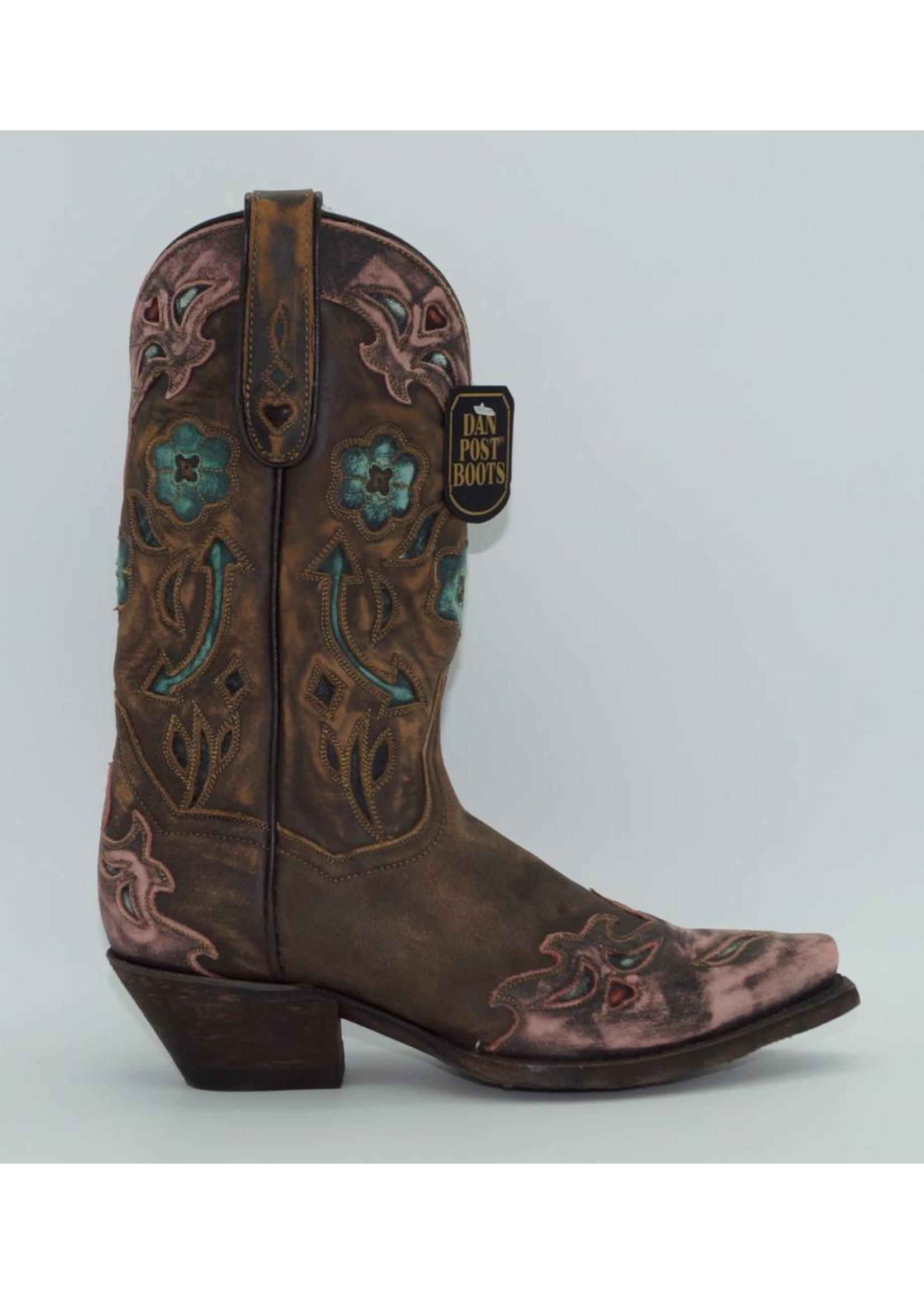 Dan Post Women's Sanded blue Arrow Western Boots DP3459