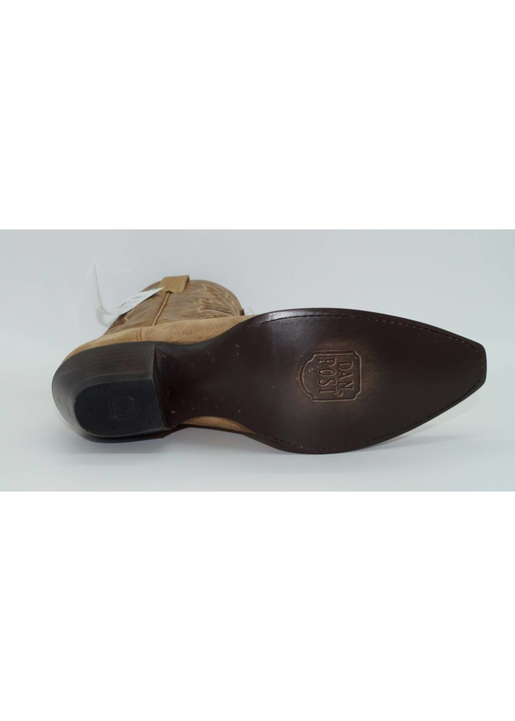 Dan Post DP3608  Tan Suede 10M