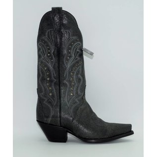 Dan Post Carisma Studded Shaft Cowgirl Boots DP3447