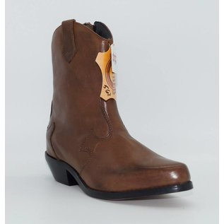 Dingo Women's Tan Short Western Boot DI562