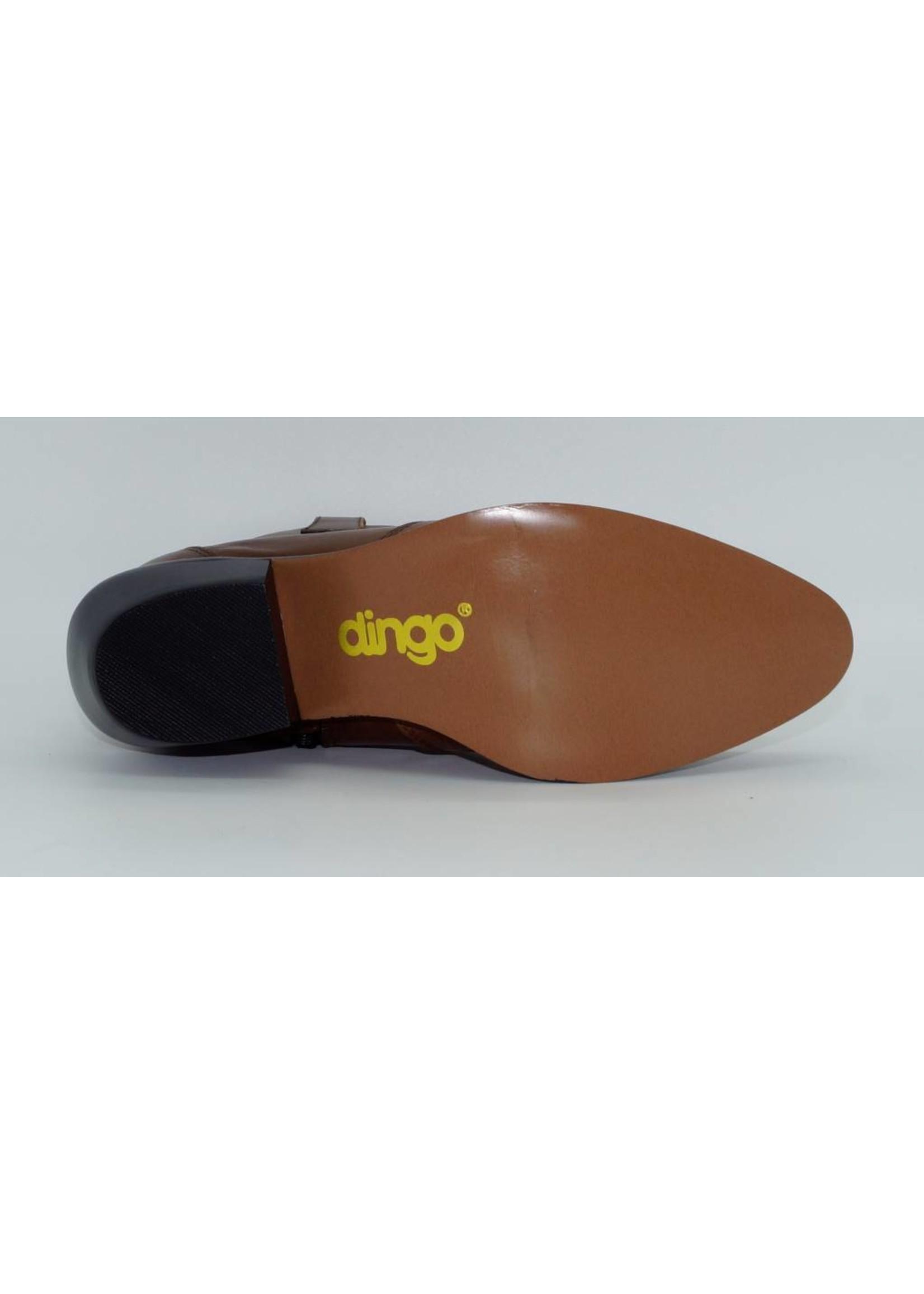 Dingo Women's Tan Short Western Boot DI562