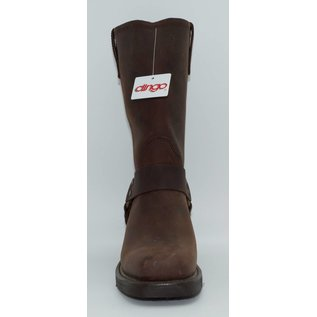 Dingo Women's Brown Motorcycle Harness Boot DI7374