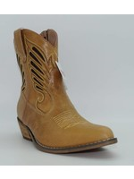 Dingo Women's Short Tan Western Boot DI727