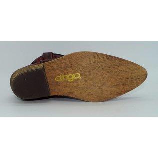 Dingo Women's Red Short Western Boot DI726