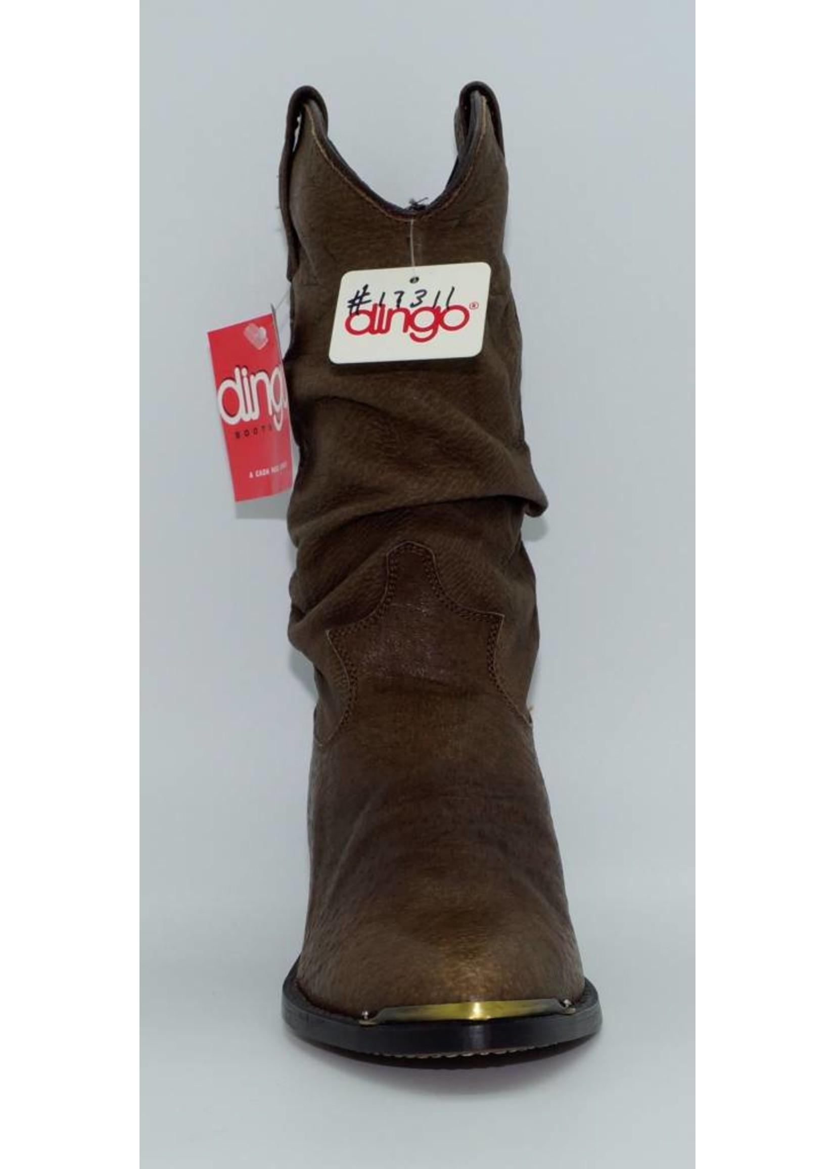 Dingo Women's  Brown Slouch 17311