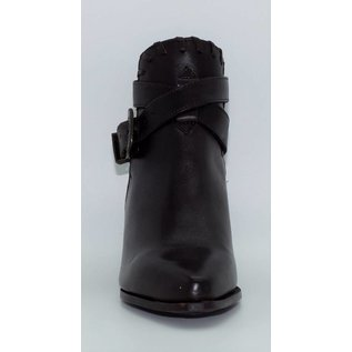 Dingo Women's Black Strap Ankle Western Boot 2252