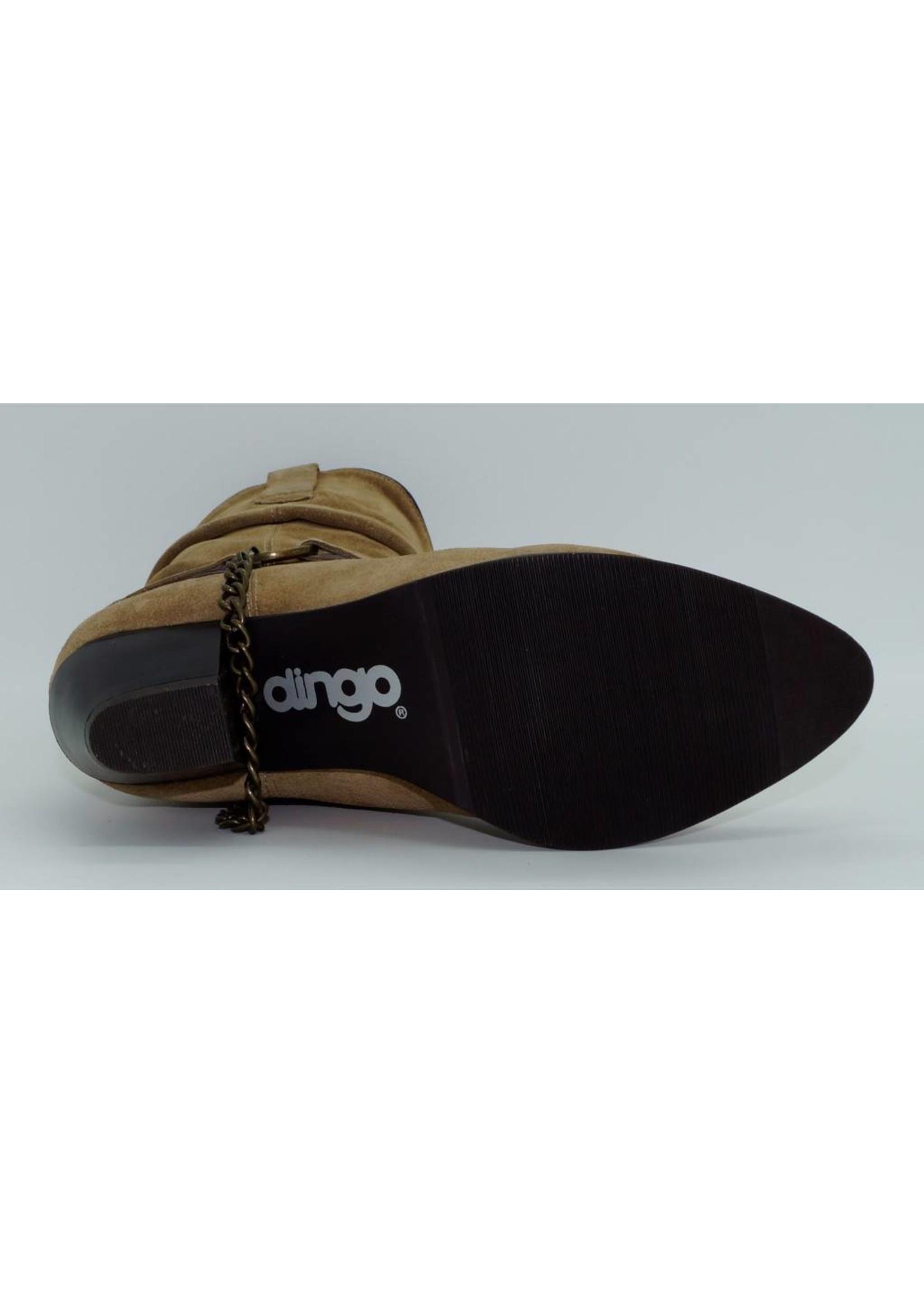 Dingo Women's Tan Slouch Suede DI519