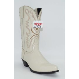 Dingo Women's Bone White Western Boot DI823