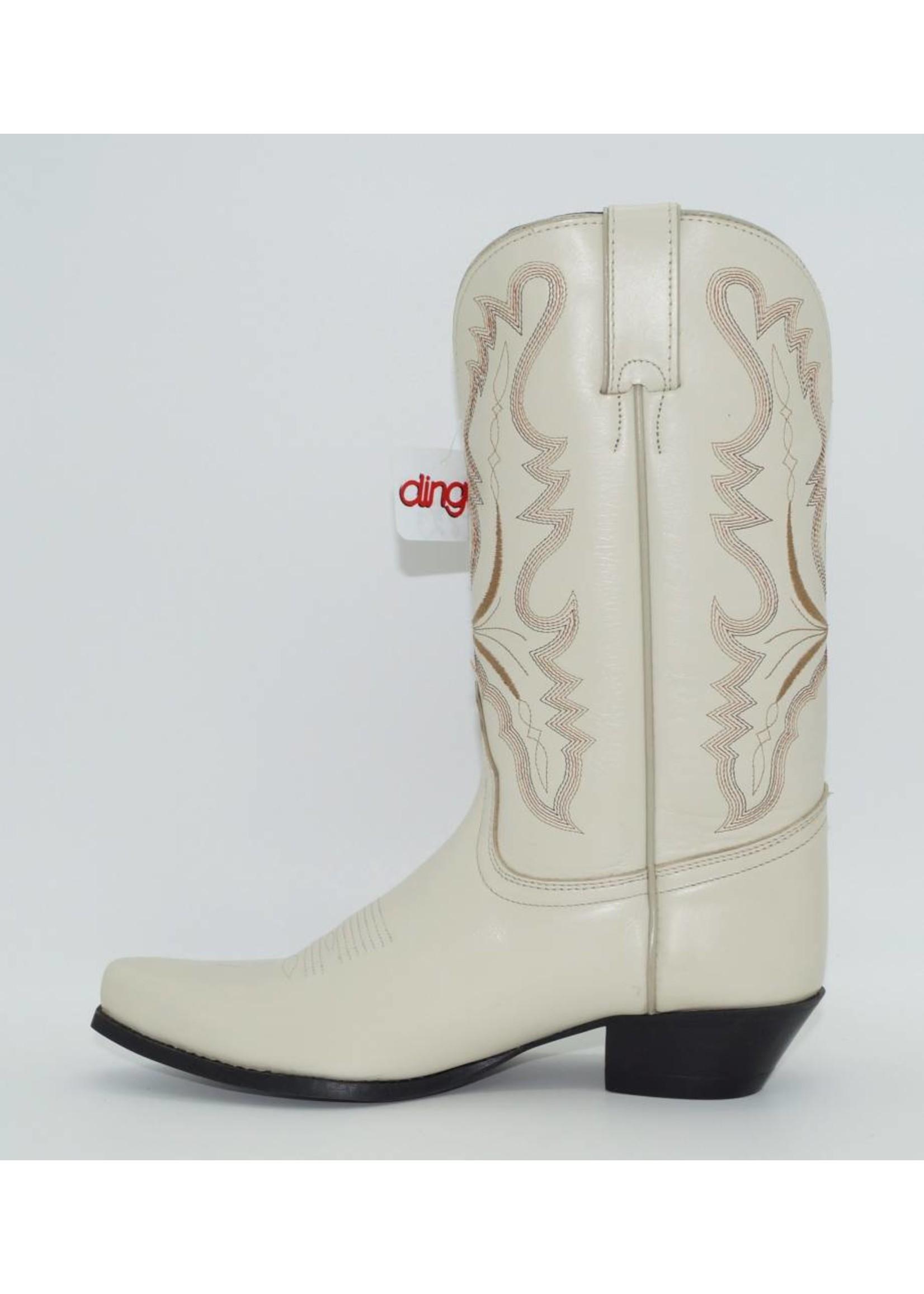 Dingo Women's Bone White Western Boot DI823