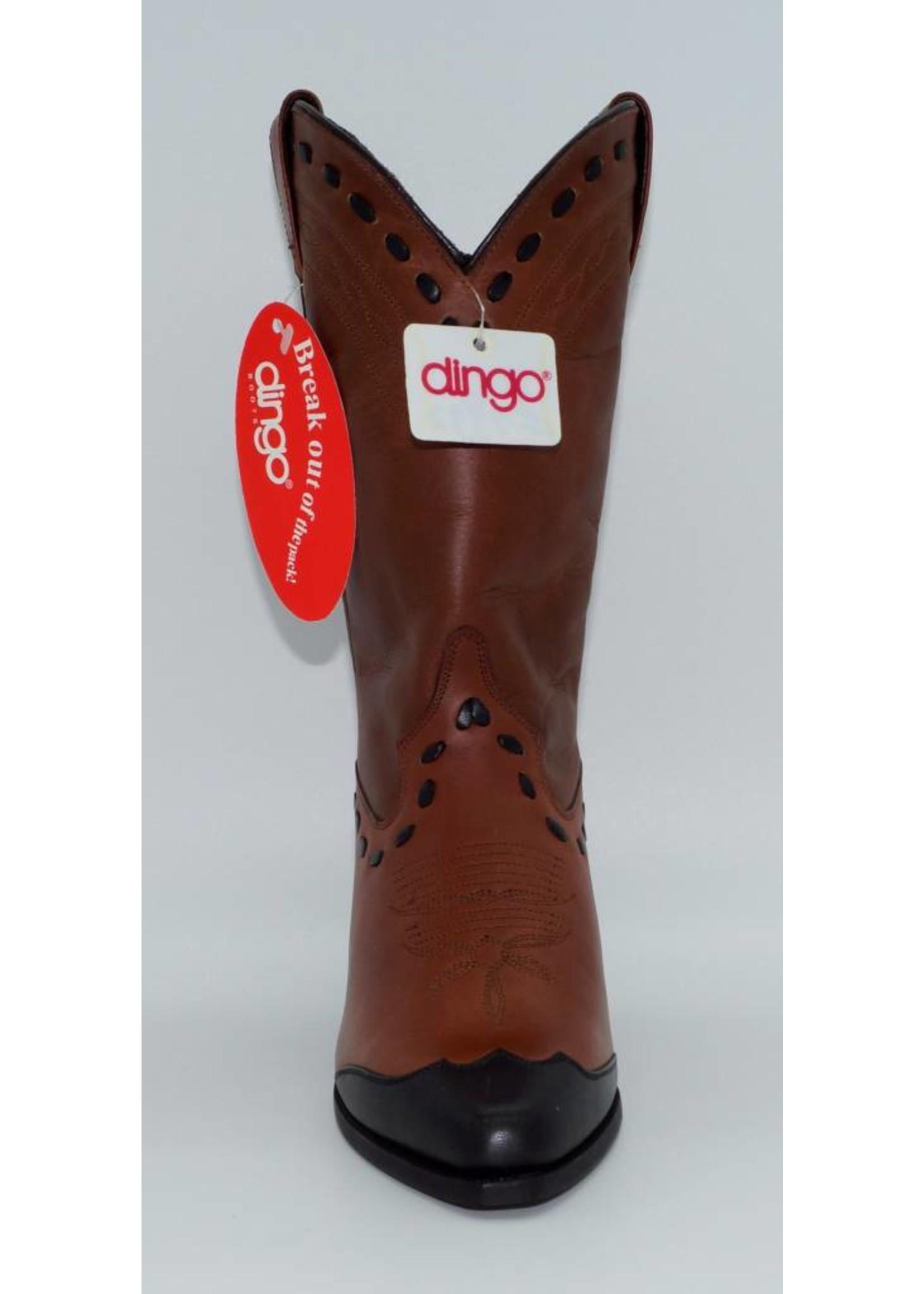 Dingo Women's Brown Wingtip DI7332