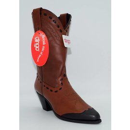 Dingo Women's Brown Wingtip DI7332