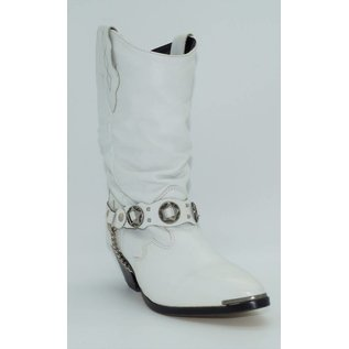 Sage Women's White Slouch Western Boot 3604