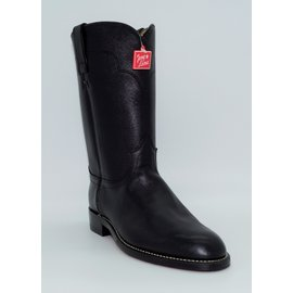 Tony Lama Men's Black Roper