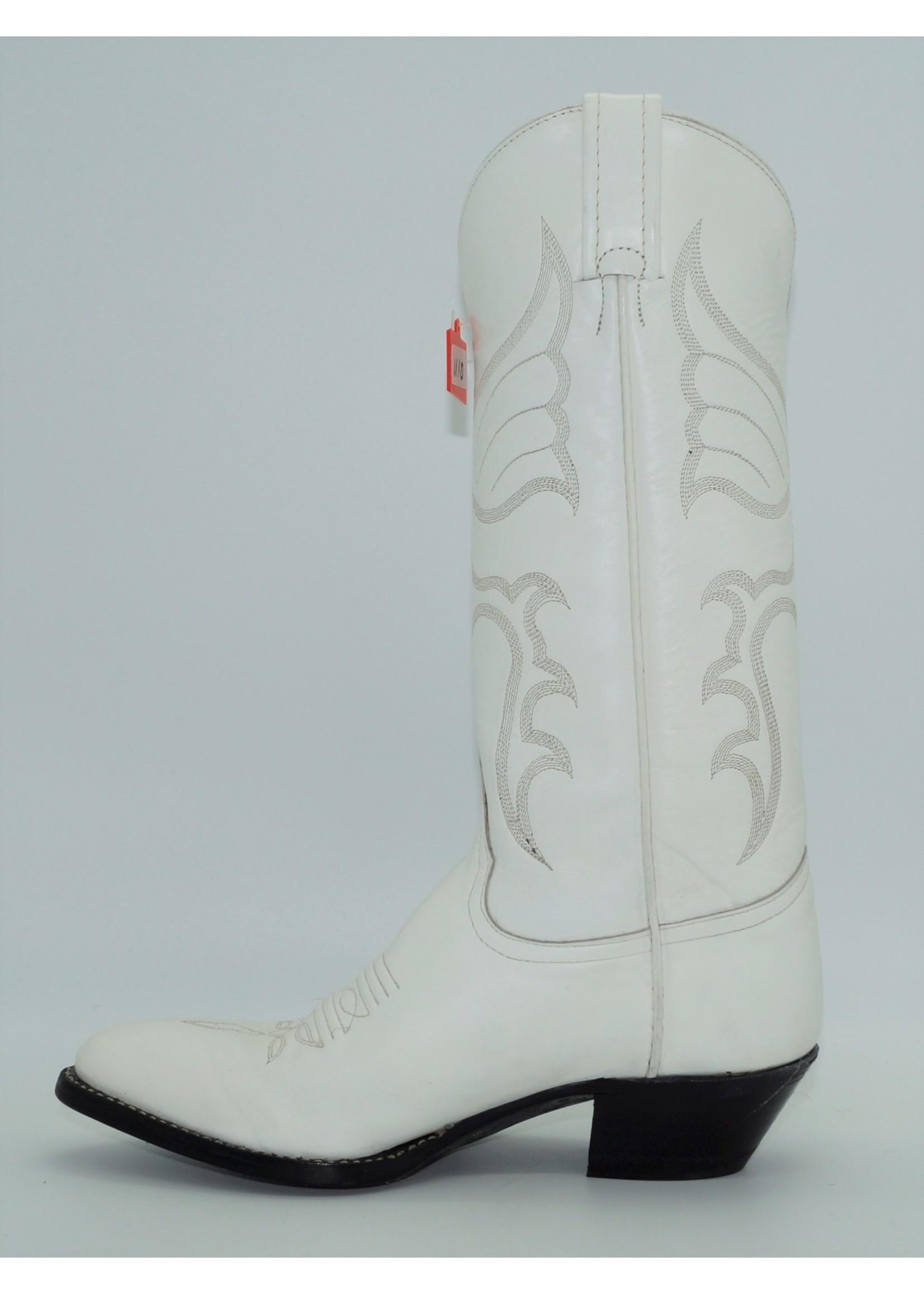 Tony Lama Womens White Western Dress Boot 1974-L