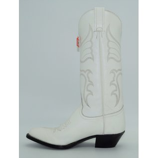 Tony Lama Womens White Western Dress Boot 1974-L