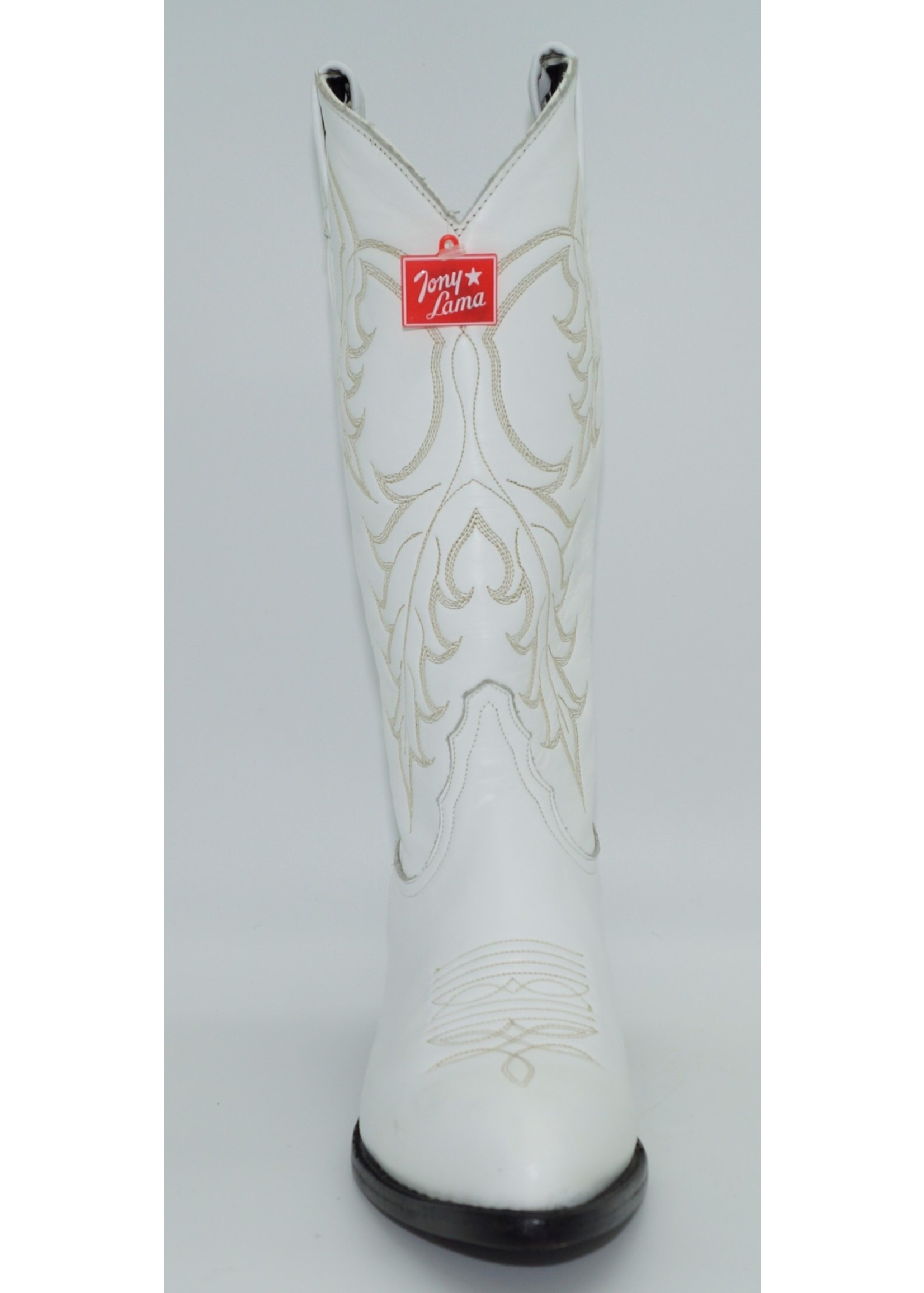 Tony Lama Womens White Western Dress Boot 1975-L