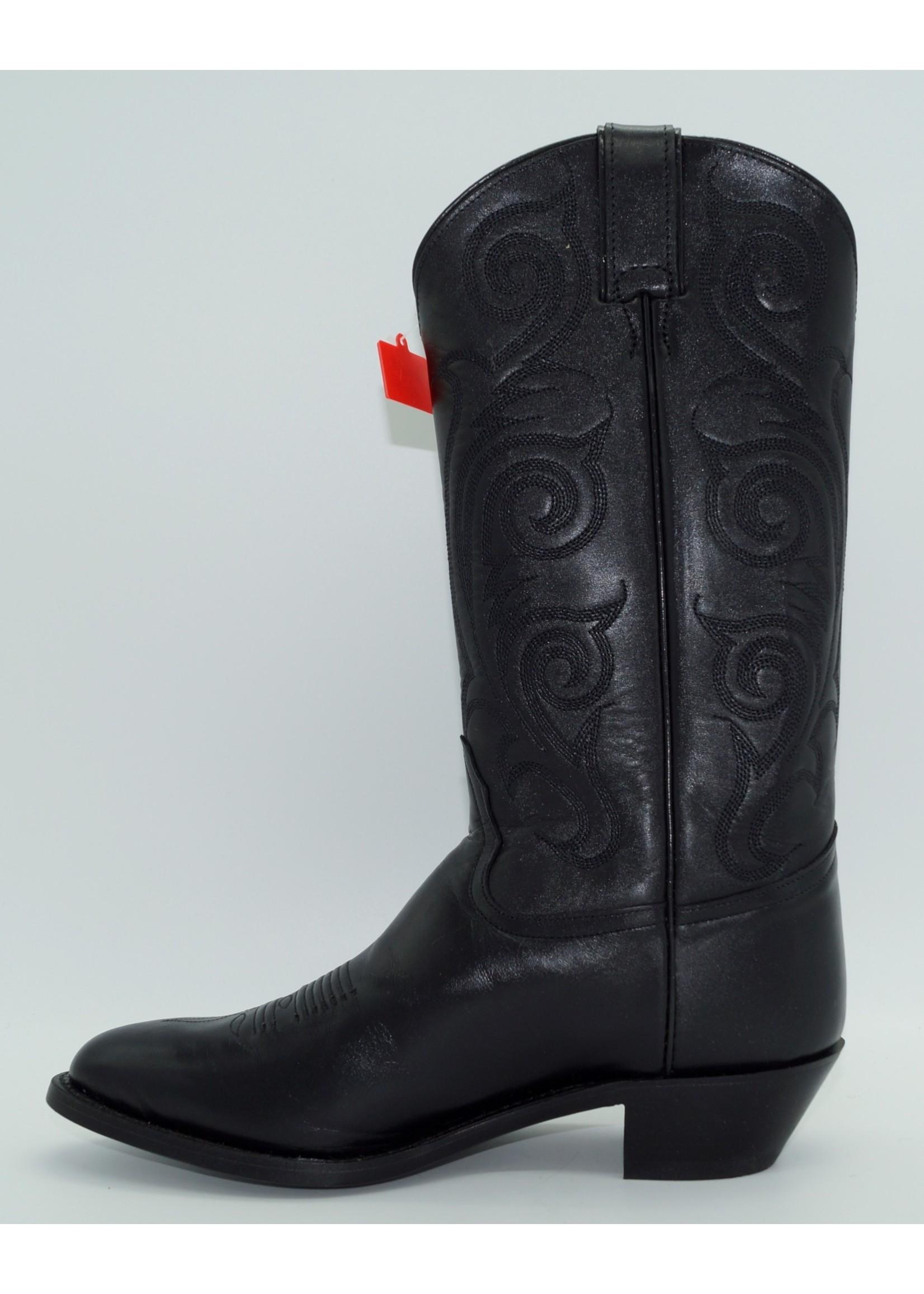 Tony Lama Women's Black Western Dress Boot 1975-LVL1972