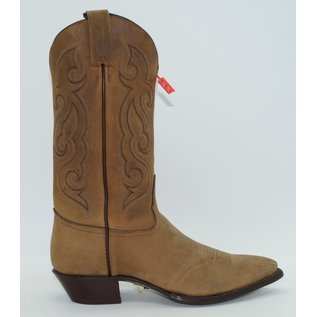 Tony Lama Women's Flat Brown Western Boot 1153L