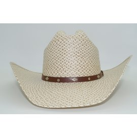 Texas / Cattleman Crease / Ivory-Brown