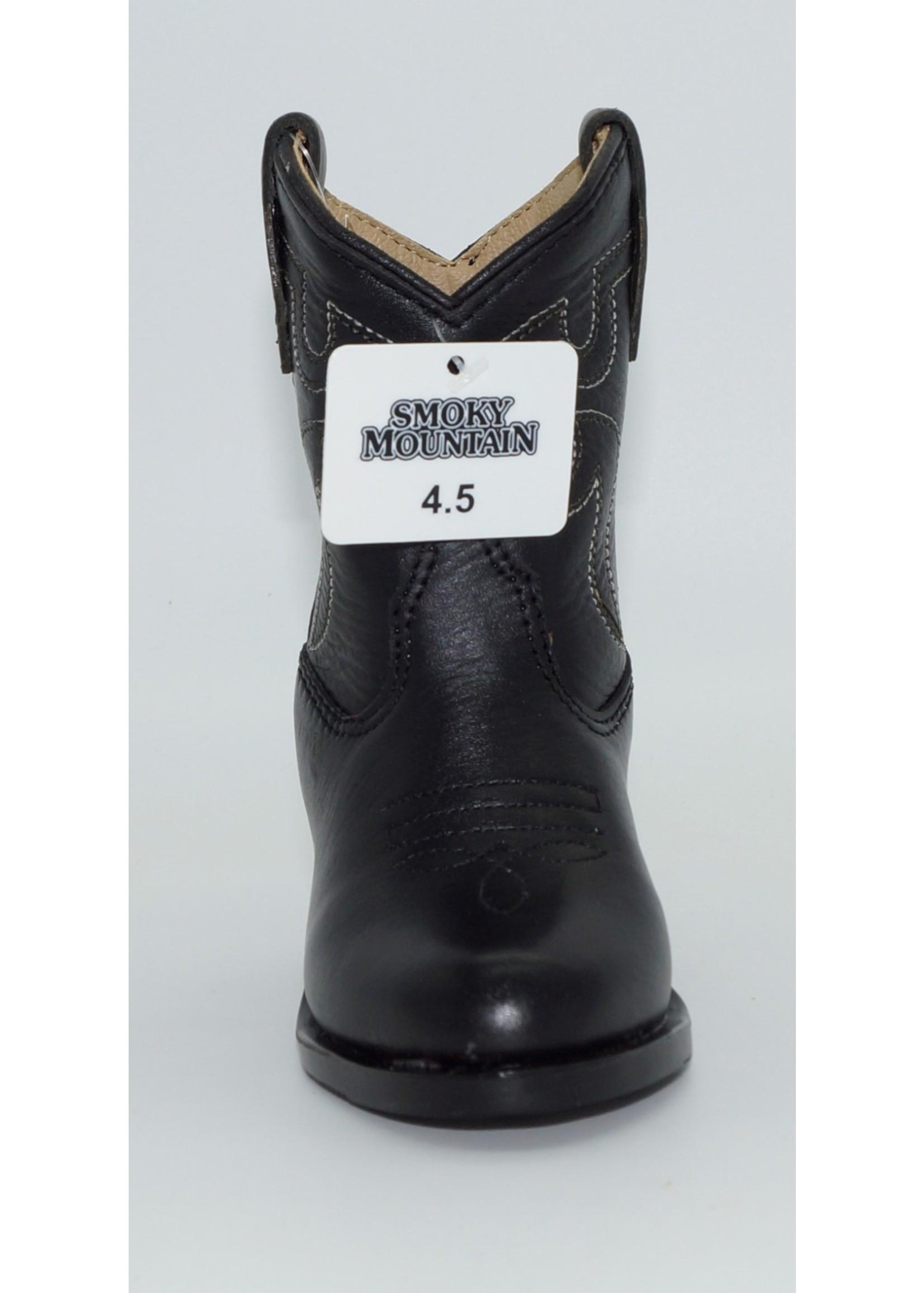 Smokey Mountain Toddler Denver Black Western Boot 3032T