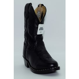 Smokey Mountain Children's Black Western Boots 3032C-Denver