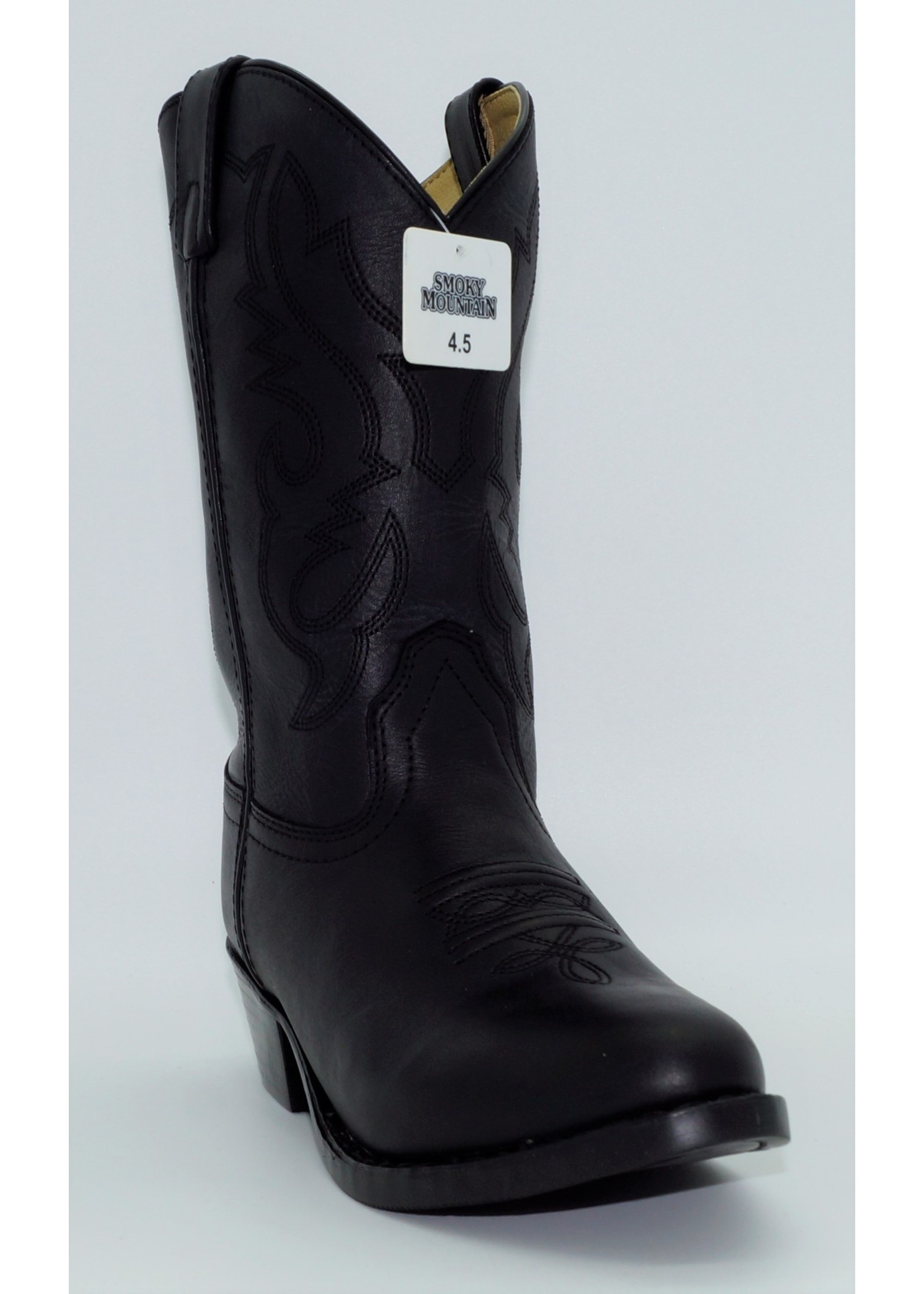Smokey Mountain Youth Black Western Boots 3032Y-Denver