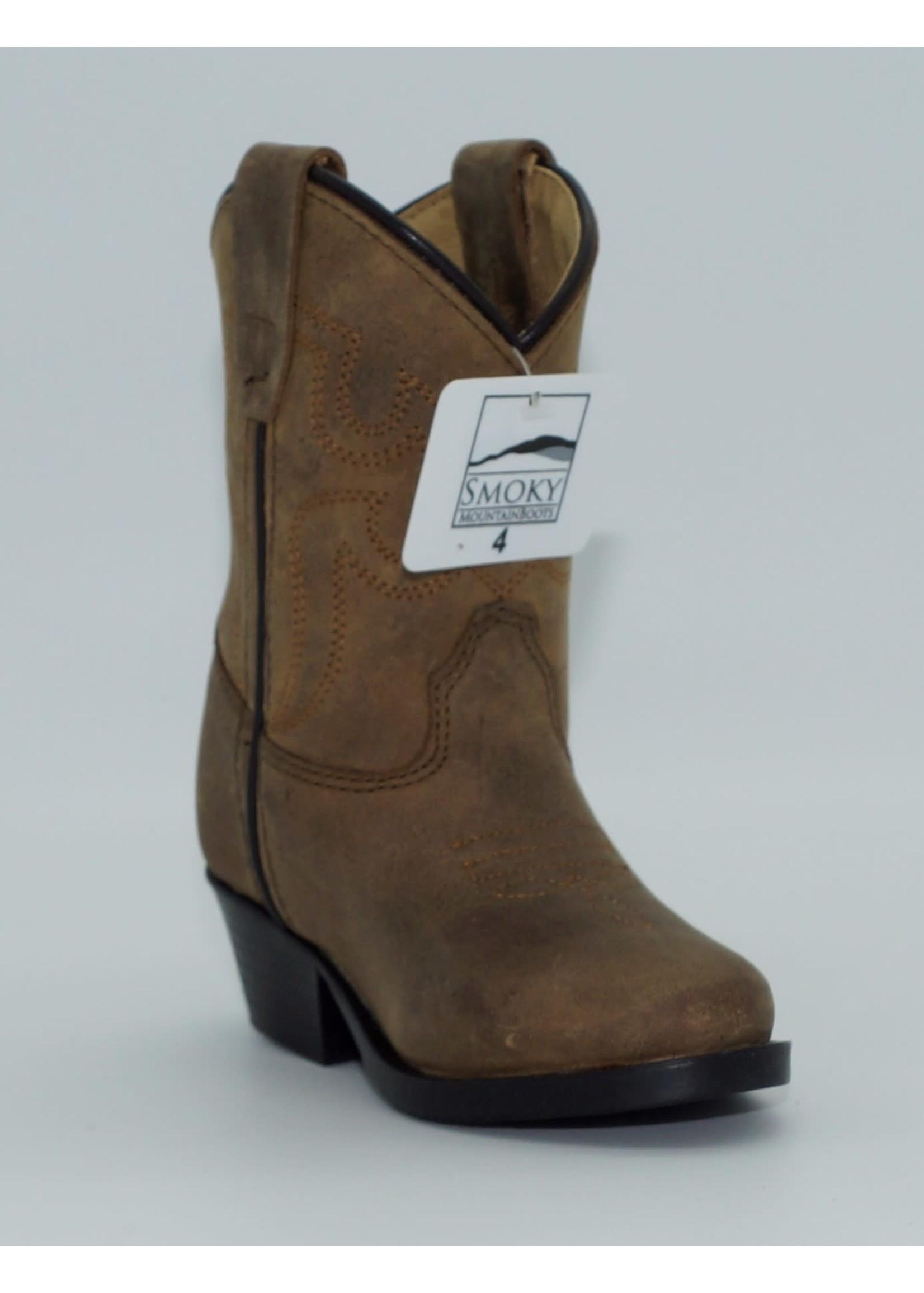 Smokey Mountain Toddler Brown Western Boots 3034T-Denver