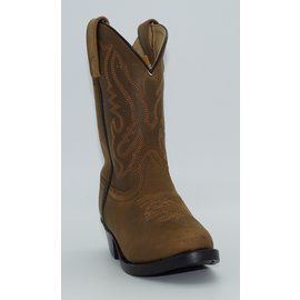 Smokey Mountain Children's Brown Western Boots 3034C-Denver