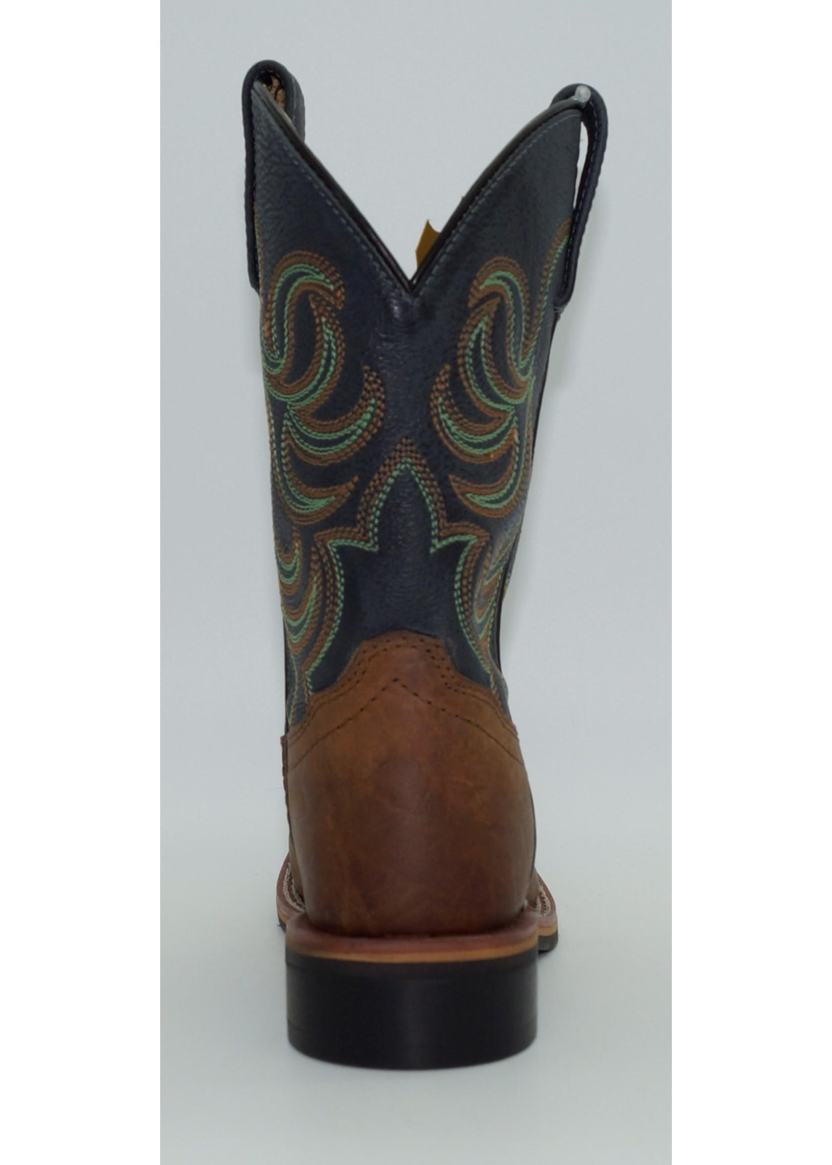 Smokey Mountain Children's Western Boot 3749C-Jesse