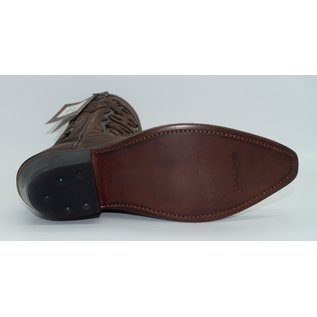 Old West Women's Brown Fancy Stitch LF1578