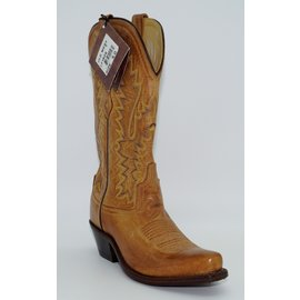 Old West Women's Tan Western Boots LF1529