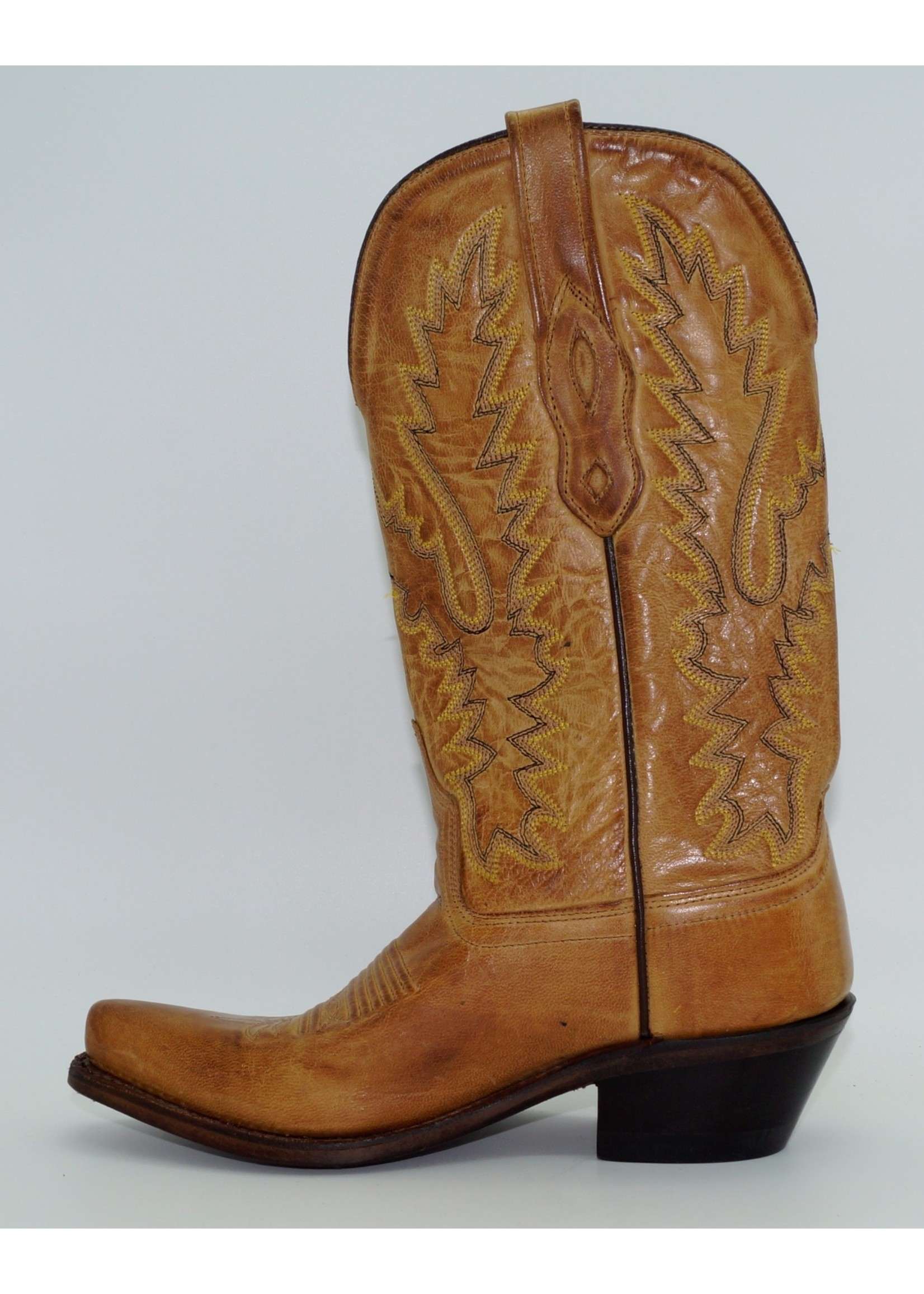 Old West Women's Tan Western Boots LF1529