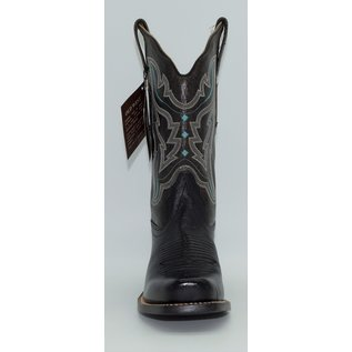 Old West Women's Turquoise Embroidered Boots 18008