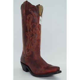 Smokey Mountain Women's Madison Red Boot 6471