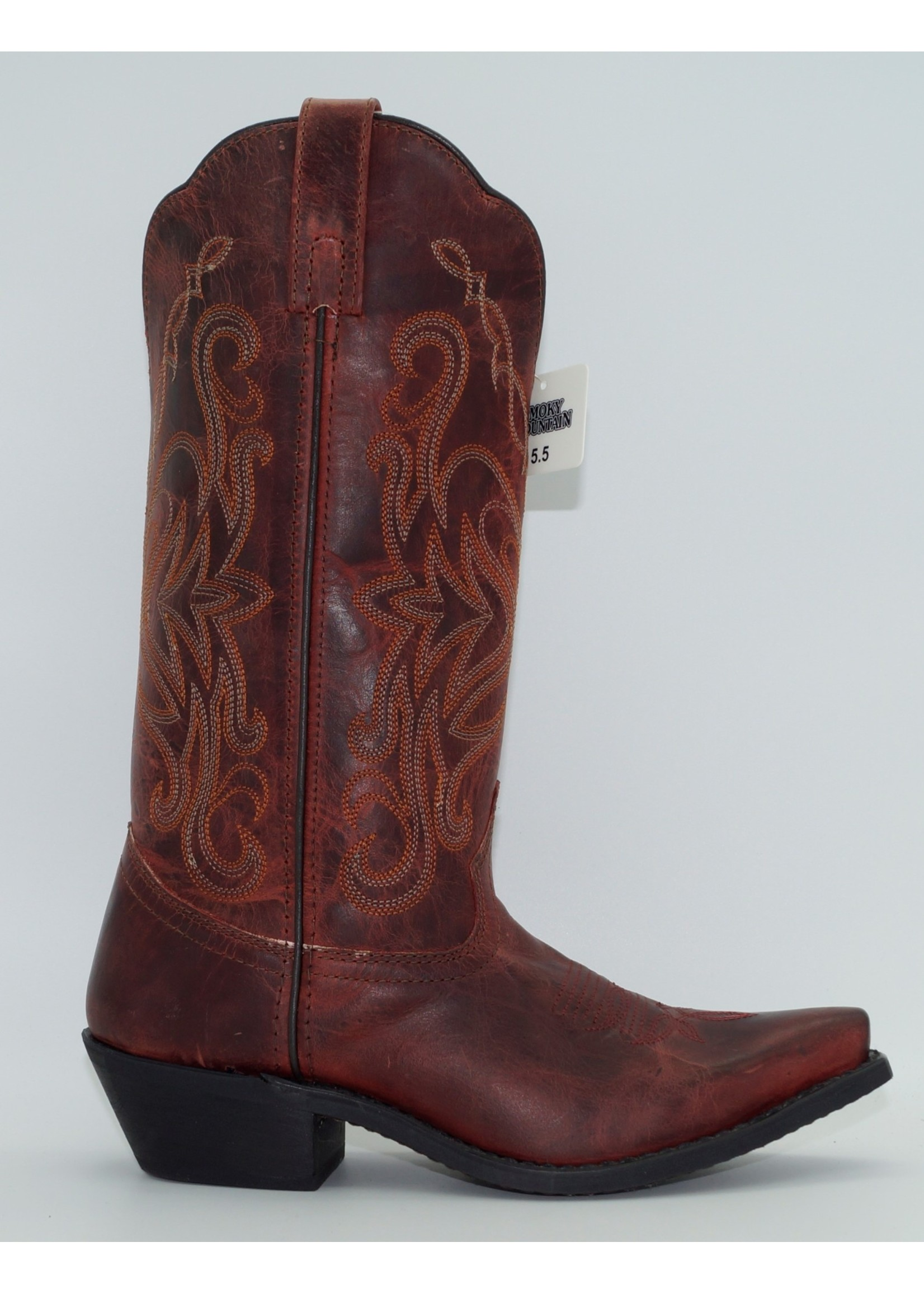 Smokey Mountain Women's Madison Red Boot 6471