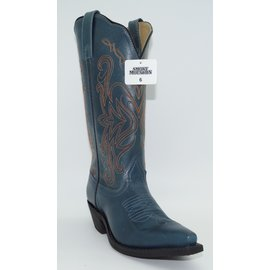 Smokey Mountain Women's Madison Blue Boot 6480