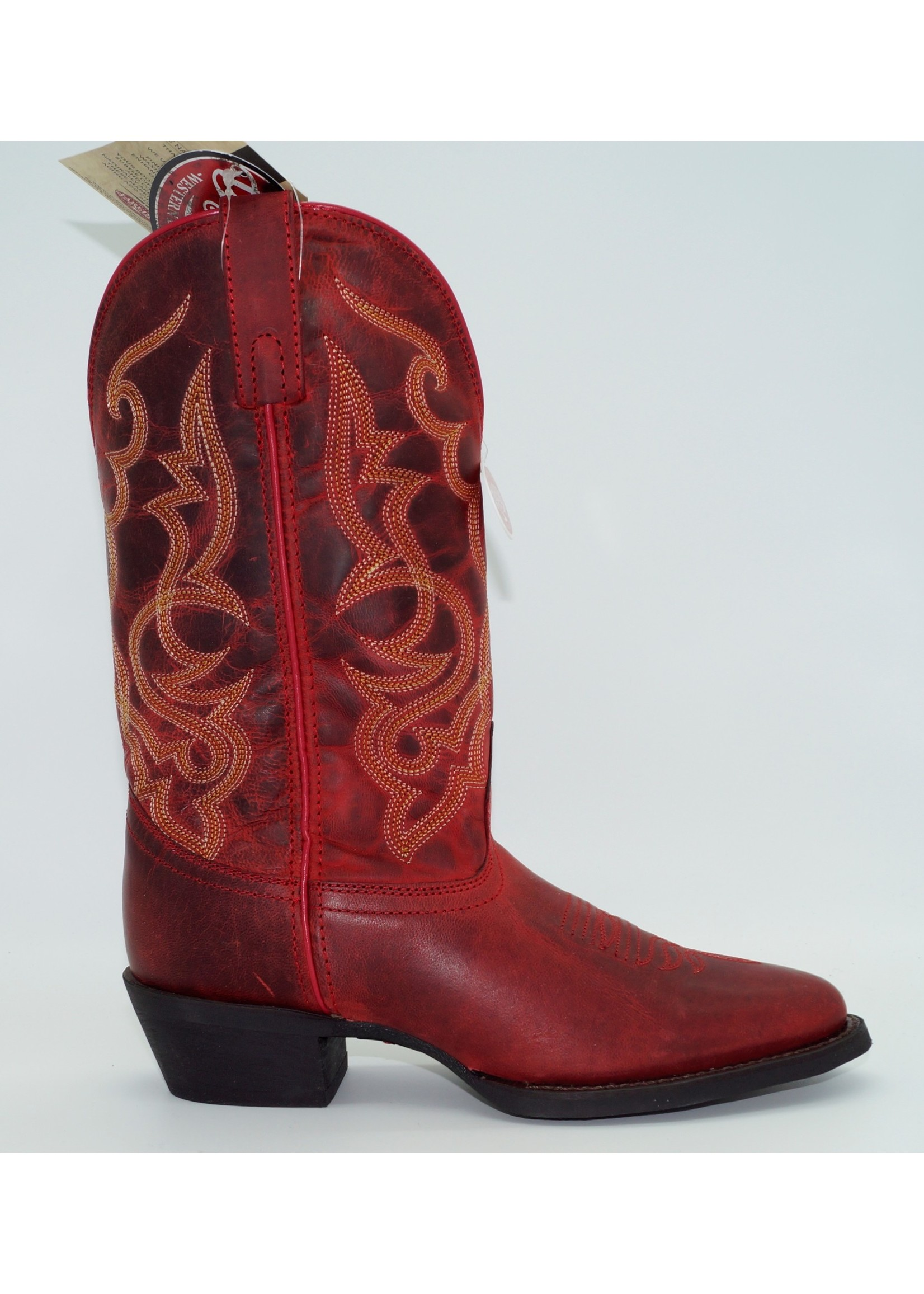 Laredo Maddie Red Leather Boot 51121