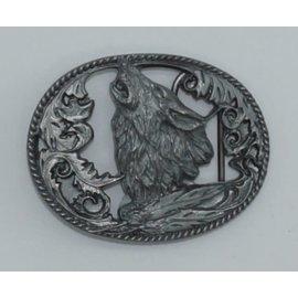 Siskiyou Gifts L2CD-BKL cutout-DC Howling Wolf