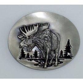 Siskiyou Gifts L3E-E- Moose Buckle Enameled