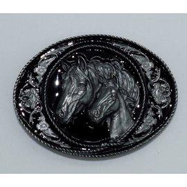 Siskiyou Gifts A5D-BKL-DC Horses/Framed