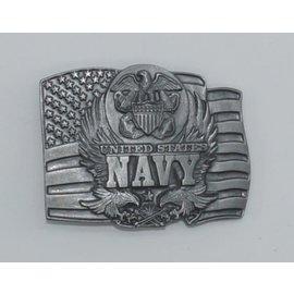 Siskiyou Gifts D92-BKL-US Navy Flag