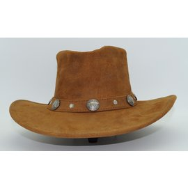 Minnetonka Buffalo Nickel Hat Tan 9513