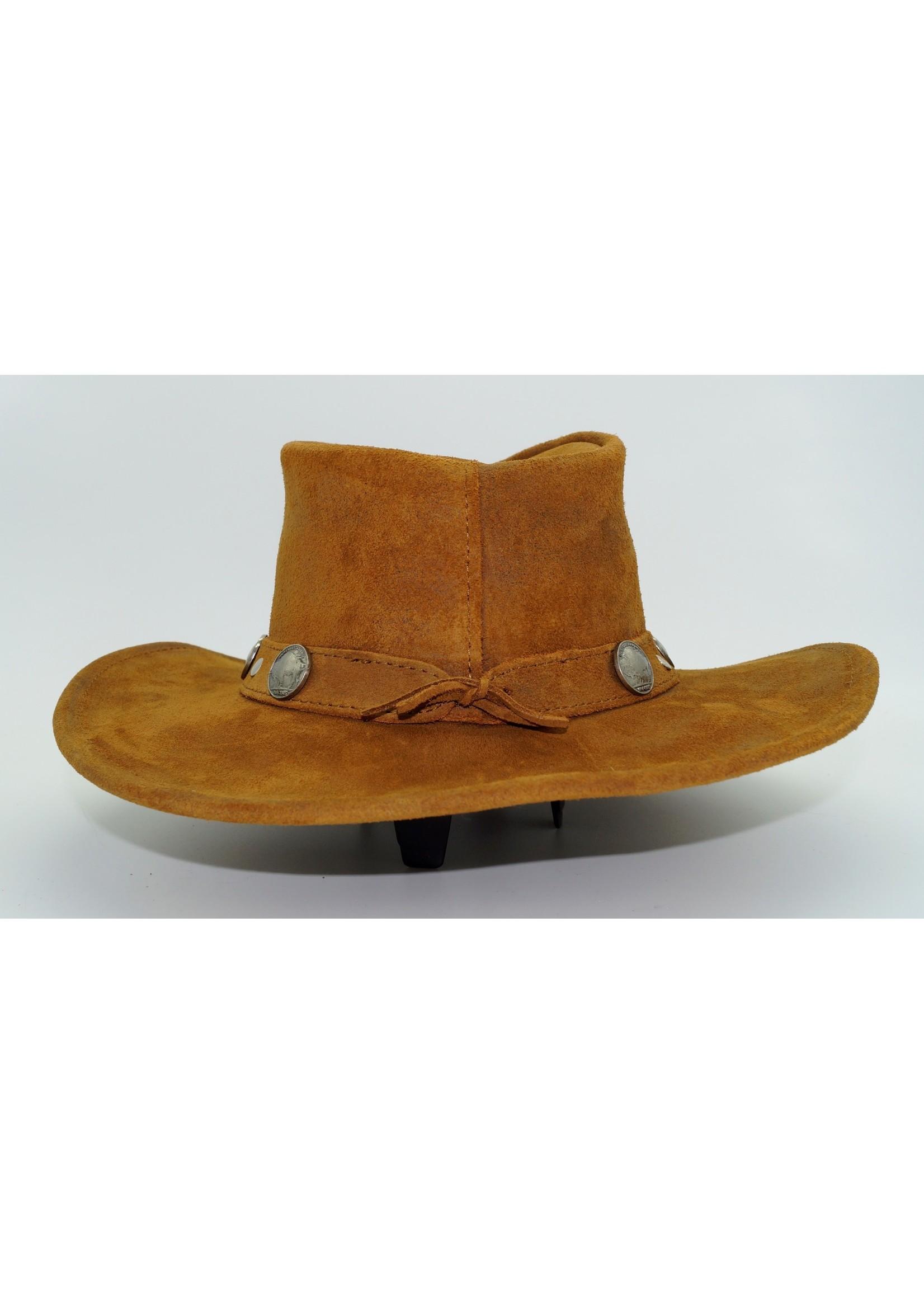 Minnetonka Buffalo Nickel Hat Tan 9513