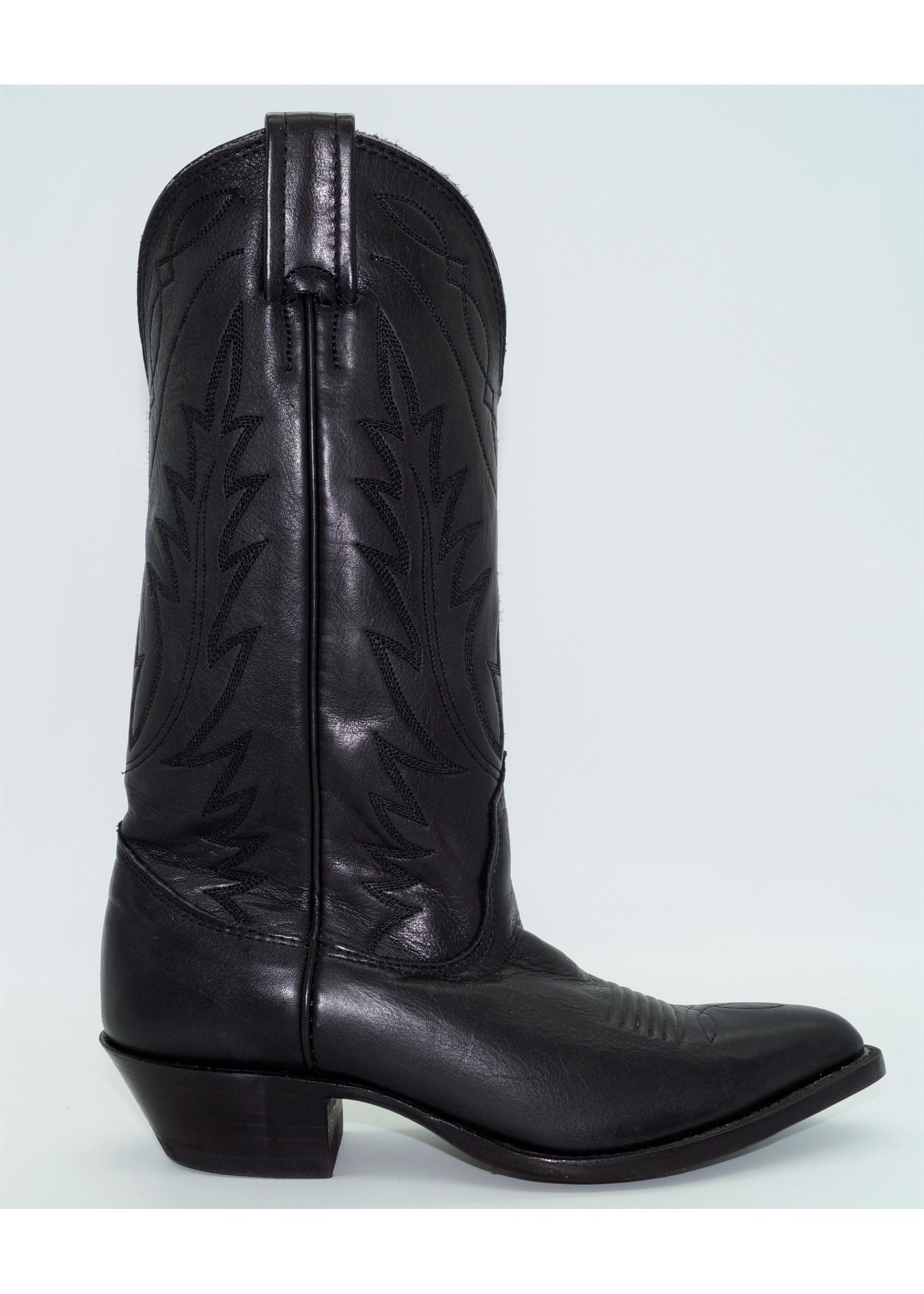 Nocona Womens Deer Black Western Boot 7501305
