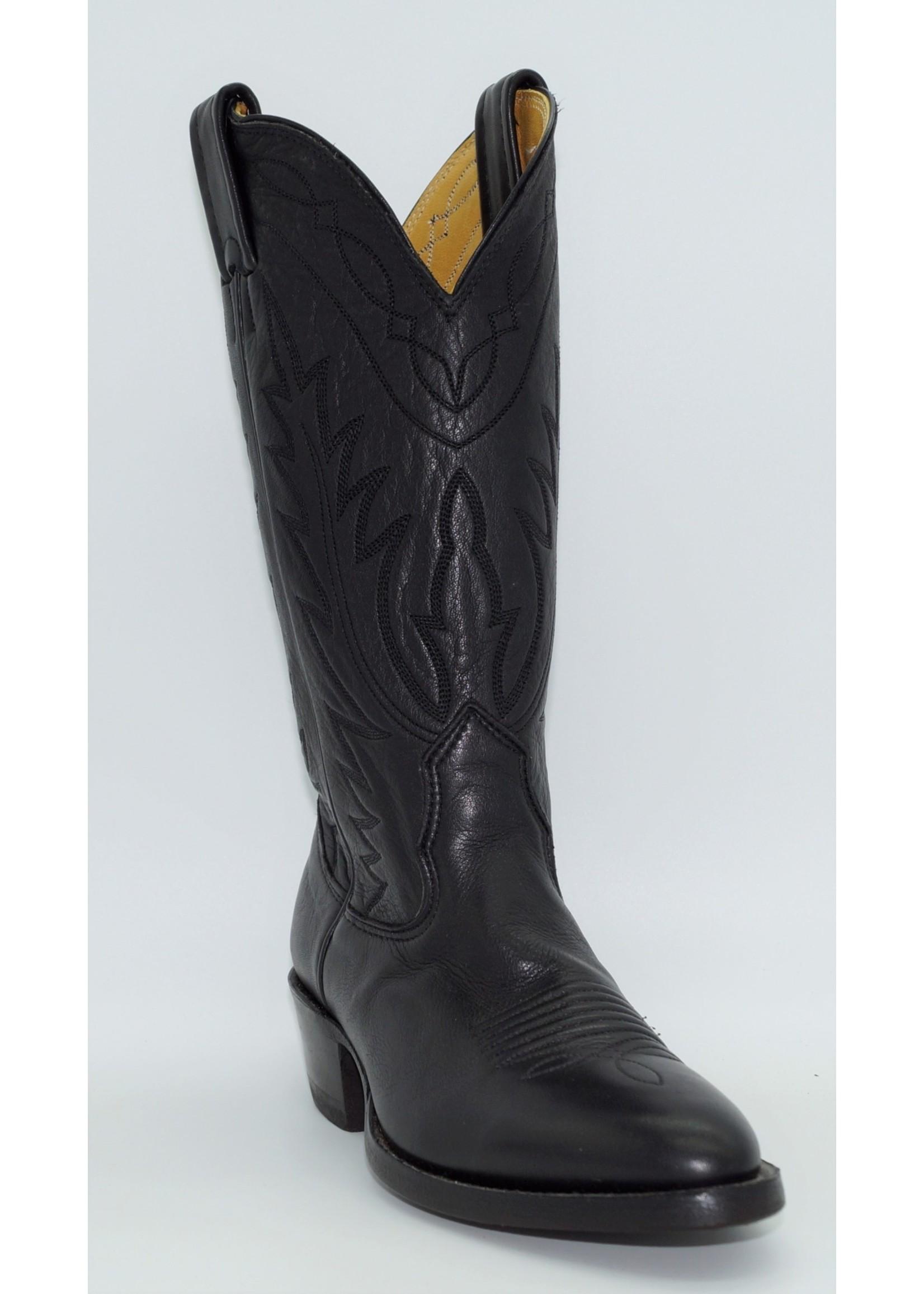 Nocona Women's Deer Black Cowgirl Boots 7501403