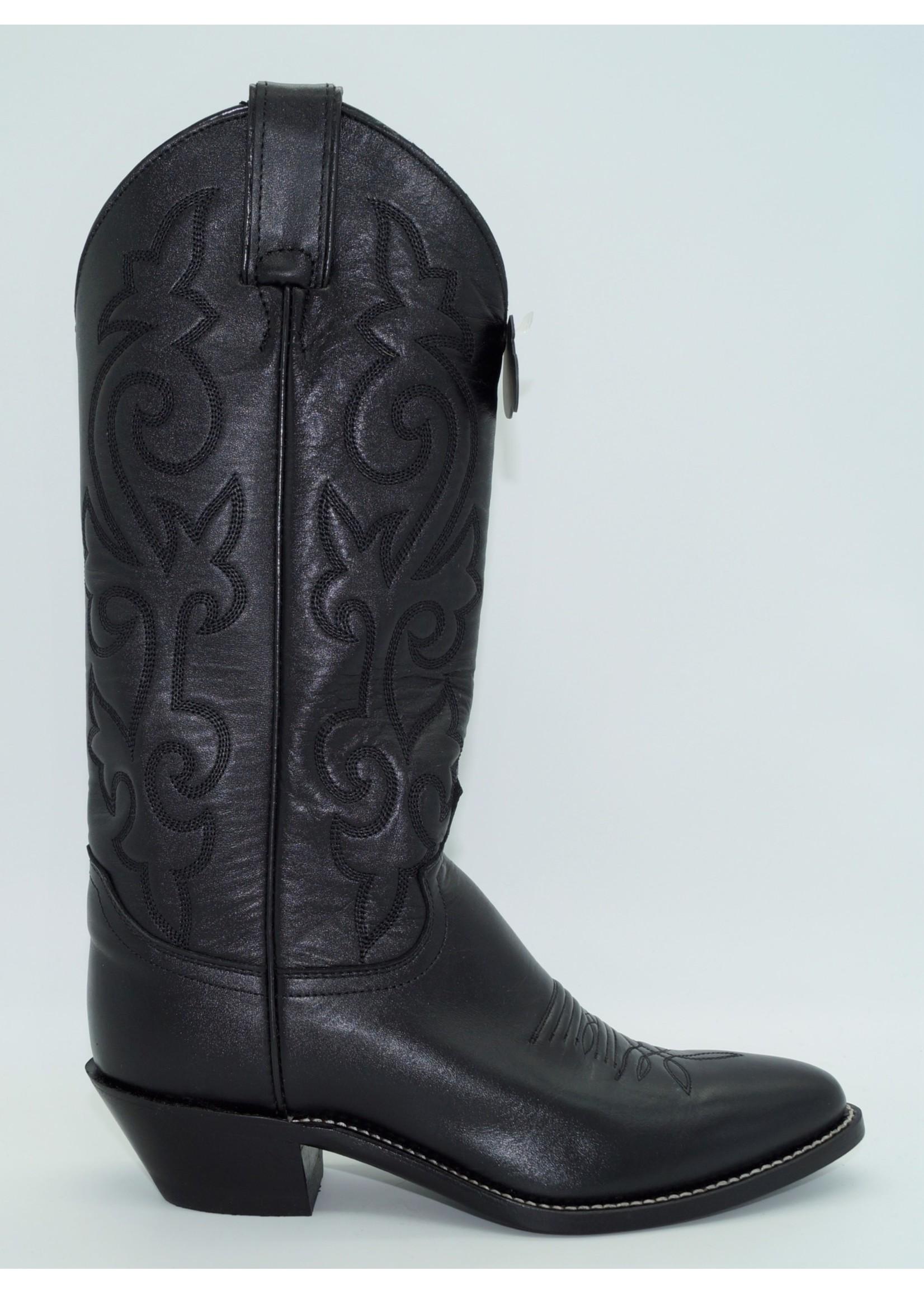 Justin Womens Black Western Boot L4911