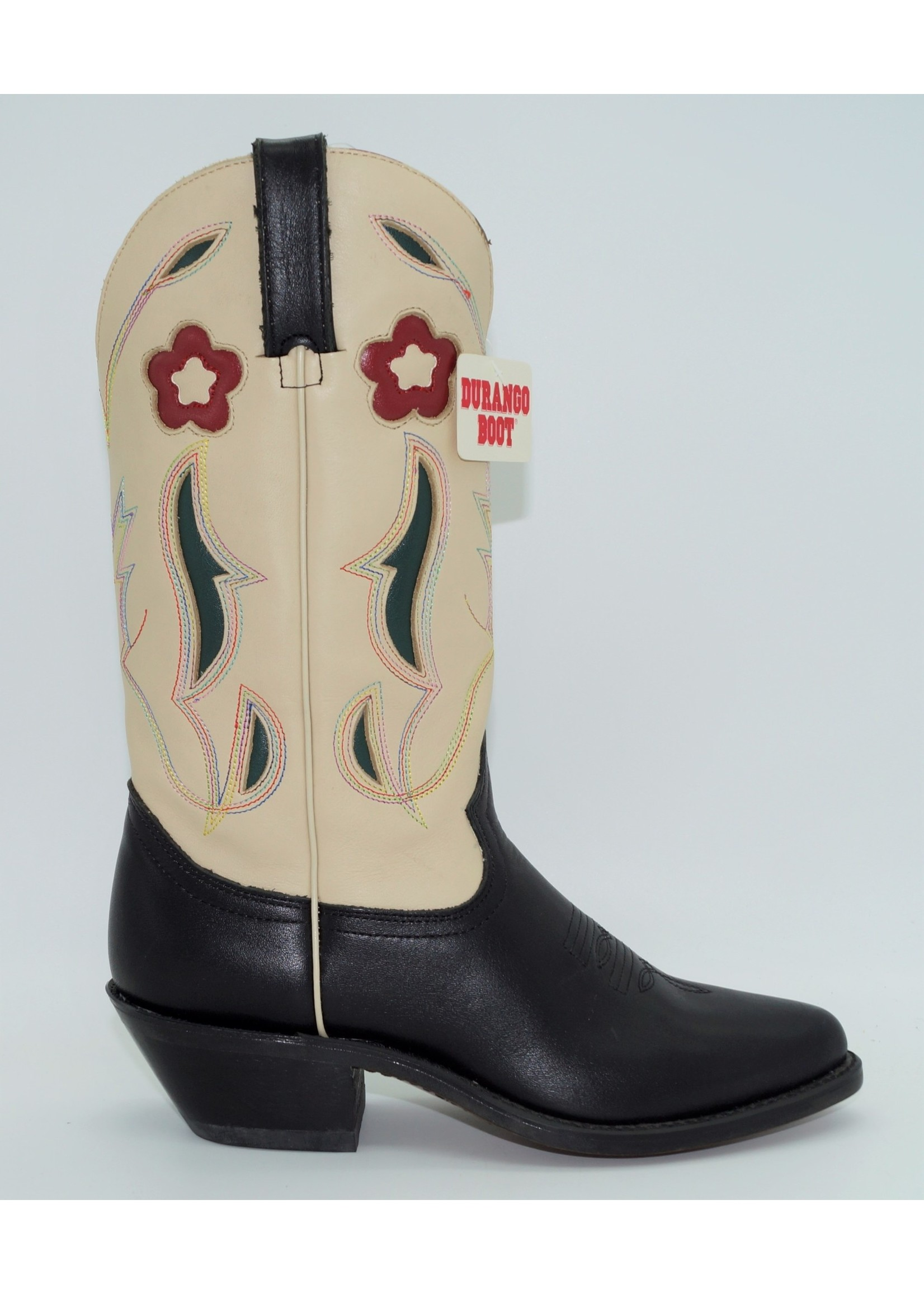 Durango Women's Flower Western Boots RD6008