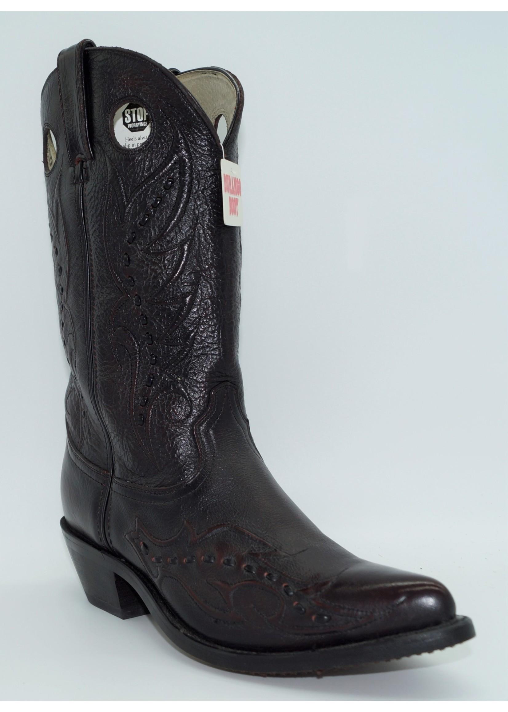 Durango Women's Black Cherry Brush-Off Leather BootRD5335