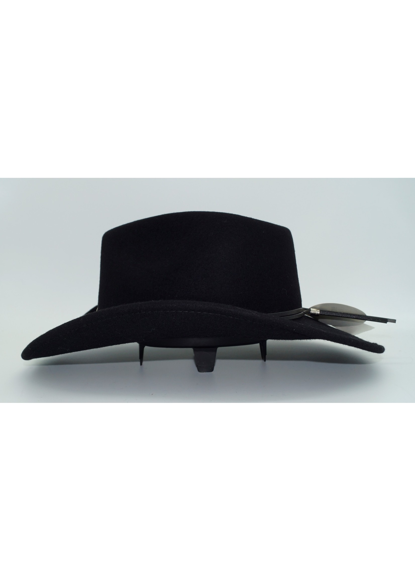 Stetson Black Hollywood Drive Shapeable Wool Hat