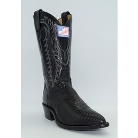 Tony Lama Men's Black Lizard Y2080